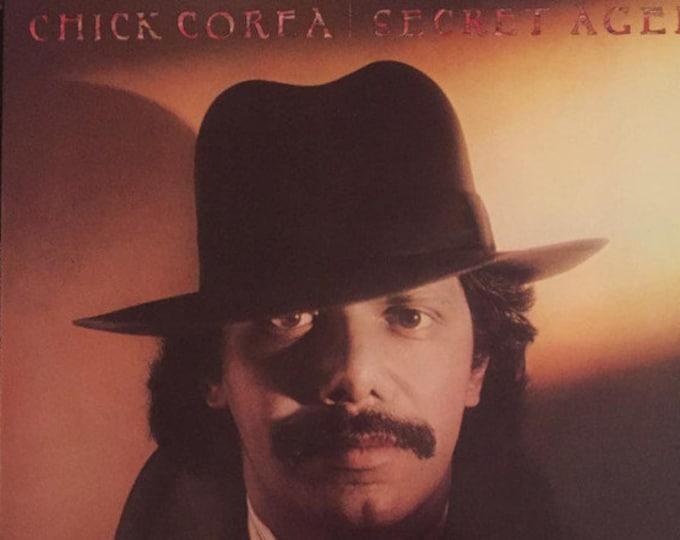"""Chick Corea, Vinyl Record Album, US Release! Authentic Vintage 1978! Chick Corea """"Secret Agent"""", Inner Sleeve w/Lyrics! Al Jarreau Vocals!NM"""