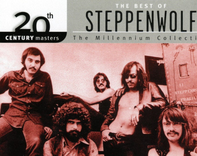 "Steppenwolf, CD, Canadian Import, Remastered! Authentic Vintage 1999! 20th Century Masters The Millenium Collection ""Best Of Steppenwolf""!NM"