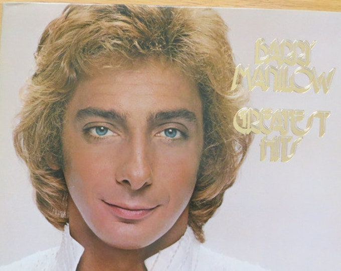 """Barry Manilow, Vinyl Album, 2X Albums! Authentic Vintage 1978! Barry Manilow """" Greatest Hits"""", 19 All Time Hits On 2 LP's, Gatefold Sleeve!"""