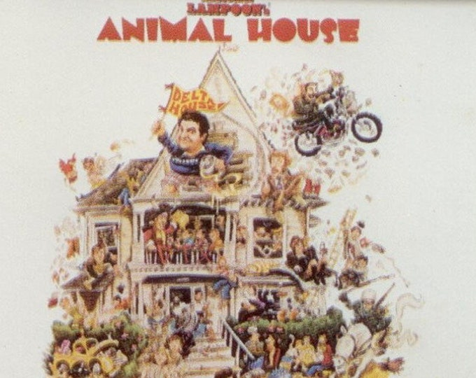 Animal House Cassette Canadian Import! Authentic Vintage 1984! National Lampoons Animal House (Original Motion Picture Soundtrack) Canada!