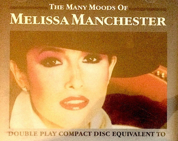 """Melissa Manchester CD, RARE Japan Pressing! Authentic Vintage 1984!""""The Many Moods Of Melissa Manchester"""" Compilation CD!Near Mint Condition"""