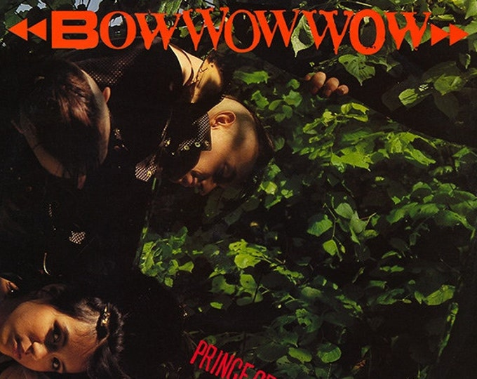 "Bow Wow Wow 12"" Single! Authentic Vintage UK Import 1981! Bow Wow Wow ~ Prince Of Darkness  Near Mint"