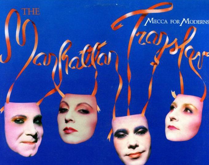 Manhattan Transfer Vinyl Album Specialty Pressing! Authentic Vintage 1981! Manhattan Transfer ~ Mecca For Moderns! Atlantic SD 16036! NM