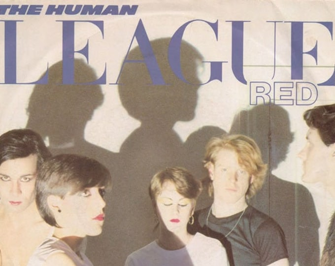 "The Human League, 7"" Vinyl Single, UK Import! Authentic Vintage 1981! The Human League,"" Love Action"", UK New Wave, Synth Pop! Near Mint!"