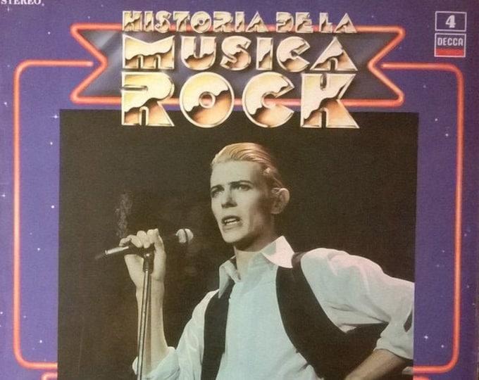 "David Bowie, 12"" Vinyl, Spain Import! Authentic Vintage 1987! Historia De La Musica Rock #4""!Recorded As Davie Jones/The King Bees! Sealed M"