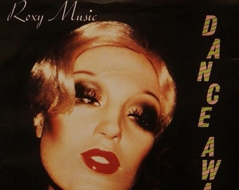"Roxy Music 7"" Vinyl UK Import! Authentic Vintage 1979! Roxy Music "" Dance Away"" /""Cry, Cry, Cry""! Polydor POSP 44 Pink Injection Labels! NM"