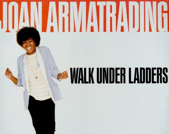 Joan Armatrading Vinyl Record LP! Authentic Vintage 1981! Joan Armatrading ~ Walk Under Ladders A&M Records  SP4876 Near Mint Vinyl Record
