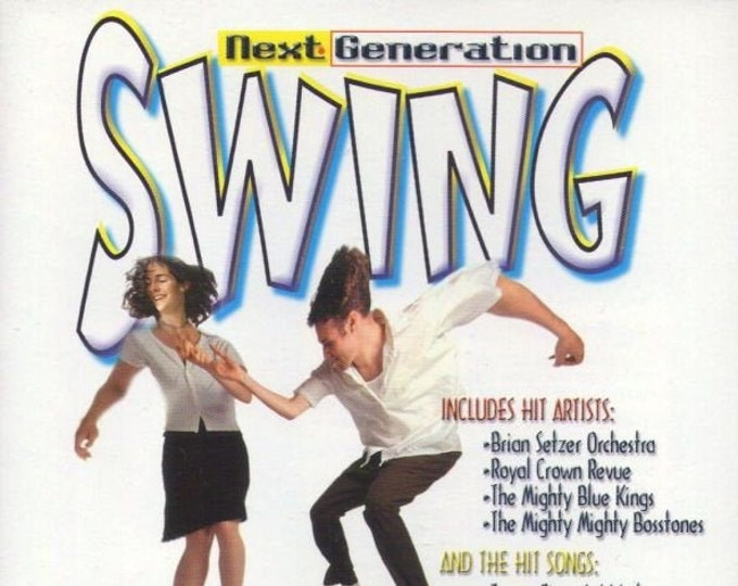 Next Generation Swing CD!Authentic Vintage '98!Next Generation Swing, Compilation CD Brian Setzer, Mighty Mighty Bosstones, Louis Prima+10!
