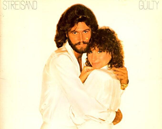 "Barbra Streisand, Vinyl Album, Gatefold Sleeve! Authentic Vintage 1980! Barbra Streisand / Barry Gibb ""Guilty"", Classic Pop Hits! Near Mint!"