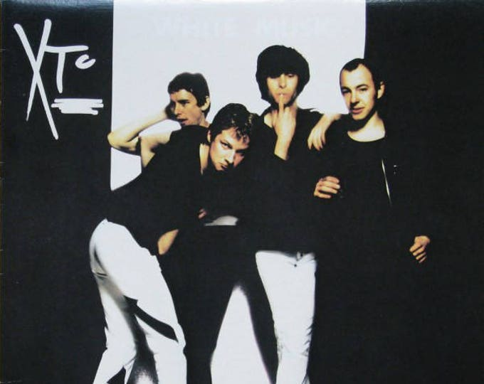 XTC Vinyl LP Canadian Import 70s New Wave Music! Authentic Vintage 1978! XTC ~ White Music Virgin Records V 2095 Near Mint Vinyl