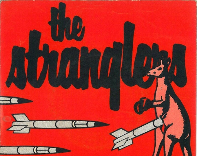 """The Stranglers , 7"""" Vinyl Single, UK Import! Authentic Vintage 1979! The Stranglers, """" Nuclear Device ( The Wizard Of Aus) 70's UK Punk!"""