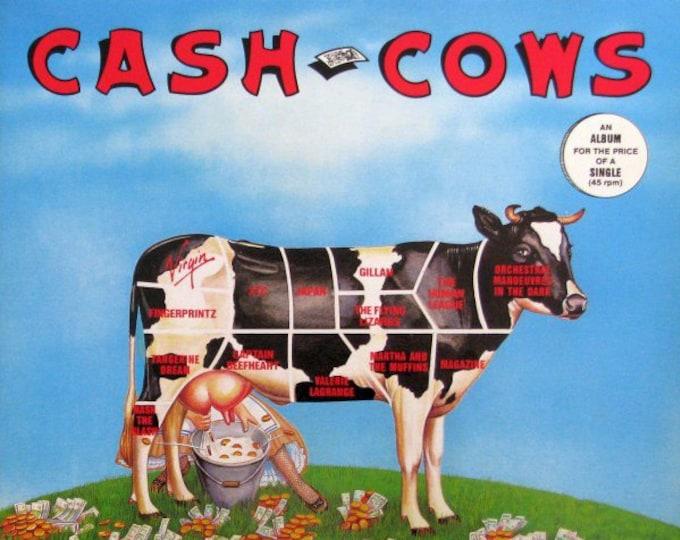 XTC/Human League/OMD Compilation Canadian Import Vinyl LP!Authentic Vintage'81! Cash Cows~Tangerine Dream/Captain Beefheart  Near Mint!