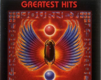 Journey Greatest Hits Canadian Import Cassette! Authentic Vintage 1988! Journey Steve Perry / Neal Schon! Columbia OCT 44493 Dolby System NM