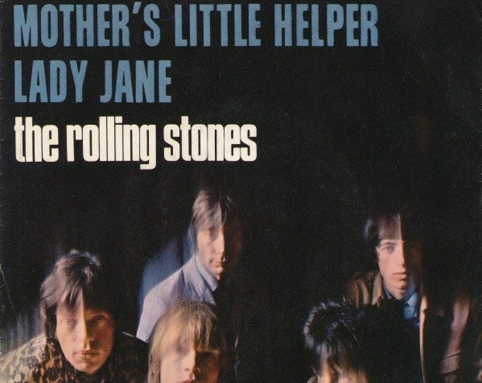 """The Rolling Stones 7"""" US Vinyl Release! Authentic Vintage 1966! The Rolling Stones ~ Mother's Little Helper/Lady Jane London Records 45-902"""