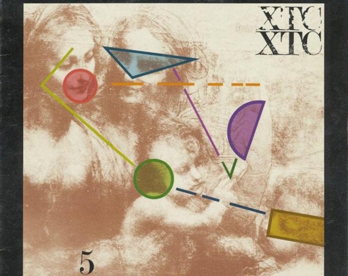 "XTC Vinyl EP Canadian Import! Authentic Vintage 1981! XTC ""5 Senses"" Vinyl Record, Andy Partridge, British New Wave Pioneers! Near Mint"