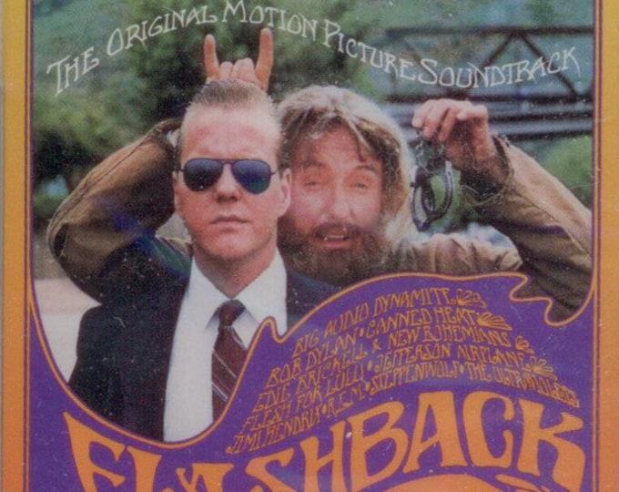 Flashback, Soundtrack Cassette, Canadian Import! Authentic Vintage 1990! Flashback, Movie Soundtrack, Jimi Hendrix, Bob Dylan + 8 More!