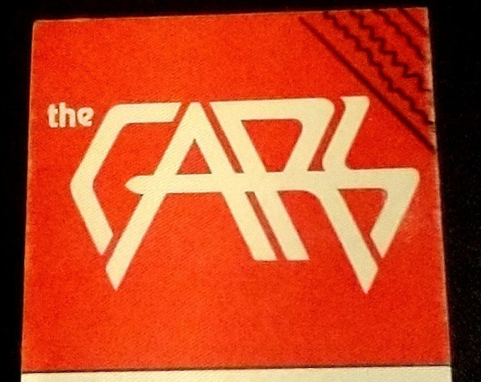 """The Cars, Silk Backstage Pass, Original Date Stamped Pass! Authentic Vintage 1979! The Cars, """"Candy-O Tour"""" 5 October, '79 Buffalo Mem Aud!"""