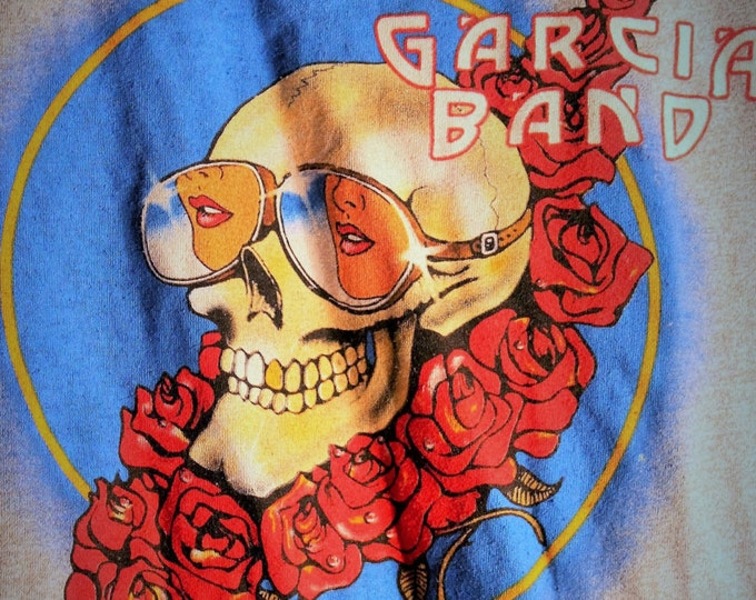 Jerry Garcia Grateful Dead T Shirt! Authentic Vintage 83! Jerry Garcia Band ~Spring Tour 83 Size XS [see description] Grateful Dead!