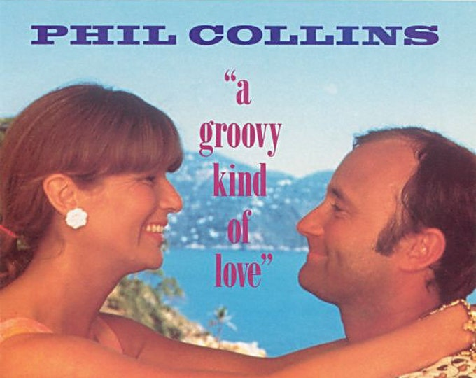 """Phil Collins, 7"""" Vinyl Single! Authentic Vintage 1988! Phil Collins, """"A Groovy Kind Of Love"""", From The Motion Picture Soundtrack """"Buster""""!NM"""