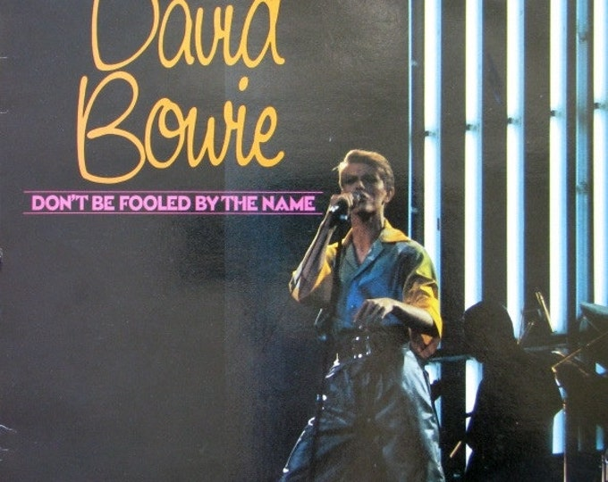 """David Bowie Vinyl 10"""" UK Compilation RARE Early Bowie ! Authentic Vintage 1981! Bowie ~ Don't Be Fooled By The Name! RARE in Near Mint Cond."""