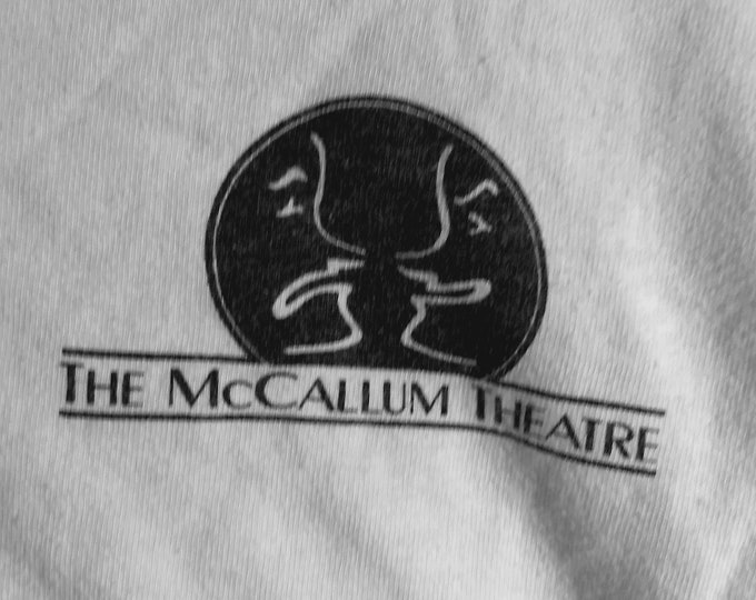 Bob Hope Gala T Shirt McCallum Theatre! Authentic Vintage'88! The McCallum Theatre Palm Desert, California! Like New! Never Worn! Size XL!