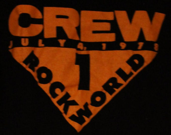 Rolling Stones Crew T Shirt! Authentic Vintage 1978 Crew T Shirt! Rolling Stones ~ US Tour (Some Girls) Size Small