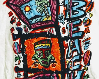 "The Beach Boys, Concert T Shirt! Authentic Vintage 1993! Beach Boys ""Summer In Paradise"" Tour Shirt! Licensed Brockum T Shirt! Never Worn!"