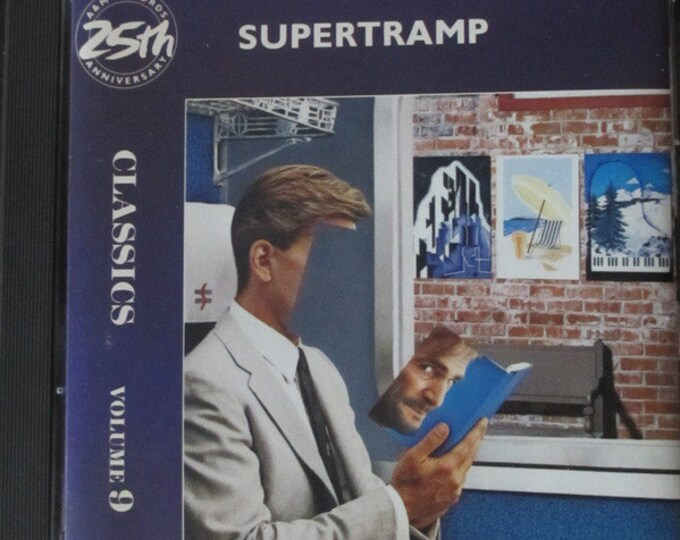 Supertramp CD Canadian Import! Authentic Vintage 1987! Supertramp Classics Volume 9:(commemorating the 25th Anniversary of A&M Records) NM.