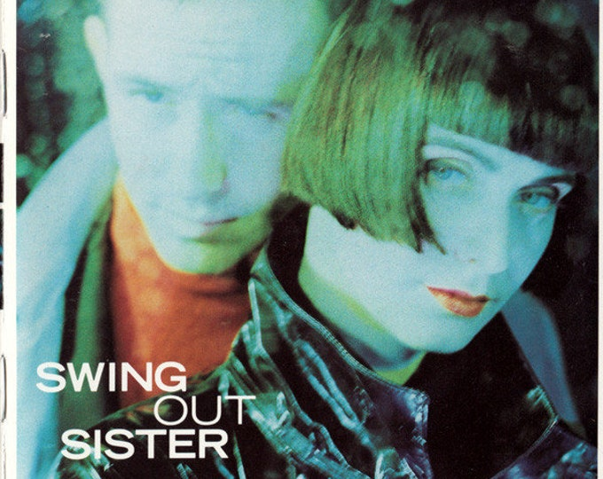 Swing Out Sister CD US Release! Authentic Vintage 1989! Swing Out Sister Kaleidoscope World UK Synth-Pop, Never Played, Near Mint