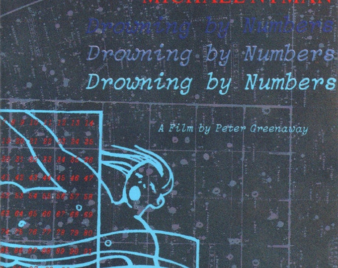 "Michael Nyman, CD, UK Import, Manufactured In Germany! Authentic Vintage 1988! Michael Nyman ""Drowning By Numbers"" Soundtrack From The Film!"