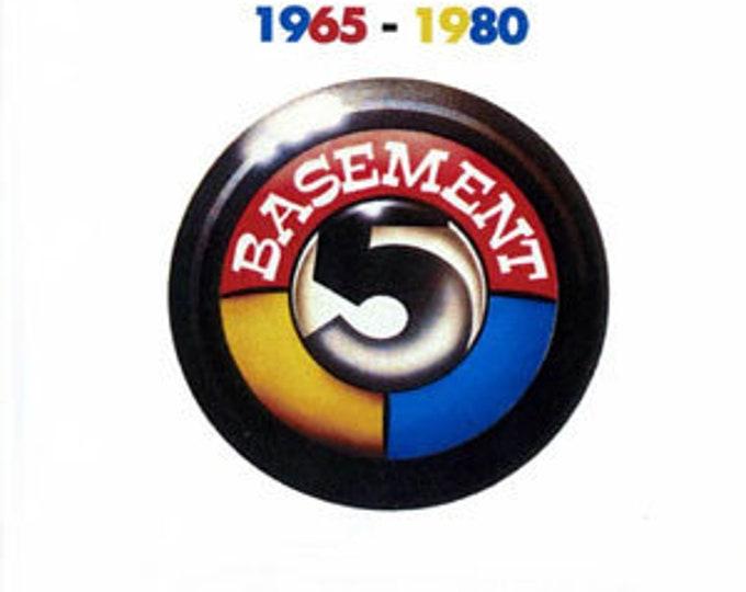 "Basement 5, Vinyl Album, US Release! Authentic Vintge 1981! Basement 5, ""1965-1980"", Reggae,Post Punk! Politically Charged, Futurist Dub! M"