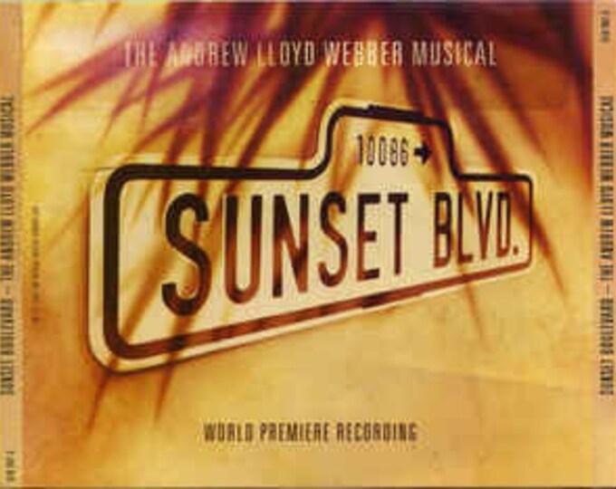 Sunset Blvd., CD X 2, German Recording! Original London Cast Recording! Authentic Vintage 1993! Sunset Blvd, Andrew Lloyd Weber,Patti LuPone