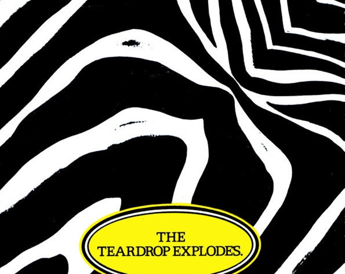 "The Teardrop Explodes, 7"" Vinyl Record, UK Import! Authentic Vintage 1981! The Teardrop Explodes, ""Reward"", UK New Wave, Mint Condition"