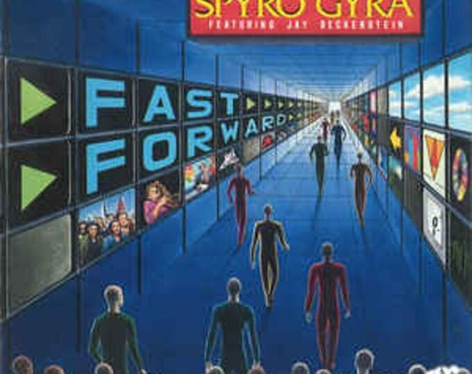 Spyro Gyra CD Jay Beckenstein! Authentic Vintage 1990! Spyro Gyra Featuring Jay Beckenstein US Release Contemporary Jazz, Club Edition! NM