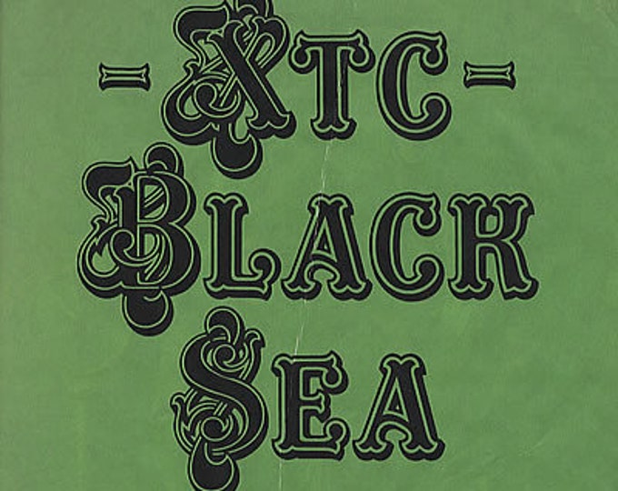 "XTC Vinyl Album! Authentic Vintage 1980! XTC ""The Black Sea"" Rare With Intact Paper Cover Over Sleeve (Faded/Creased) Andy Partridge! VG++"