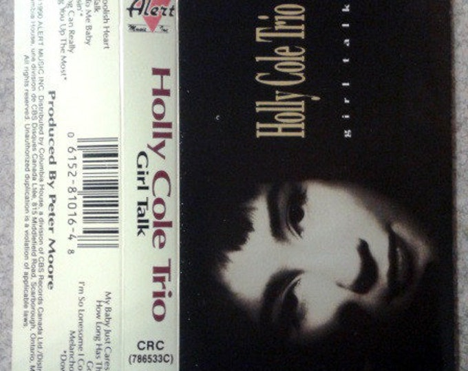 Holly Cole Trio Cassette Canada Import! Authentic Vintage 1990! Holly Cole Trio Cassette Canadian Import Live At The Stephen Leacock Theatre