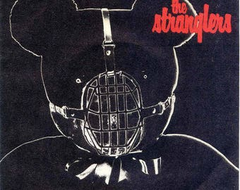 "The Stranglers UK Import 7""! Authentic Vintage 1980! The Stranglers ~ Bear Cage / Shah Shah A Go-Go United Artists BP 344 Near Mint"