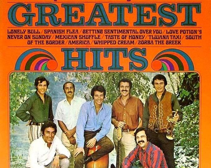 Herb Alpert Tijuana Brass, Vinyl Album,Gatefold Cover! Authentic Vintage 1970! Herb Alpert & Tijuana Brass Greatest Hits! Rare 70s LP In VG+