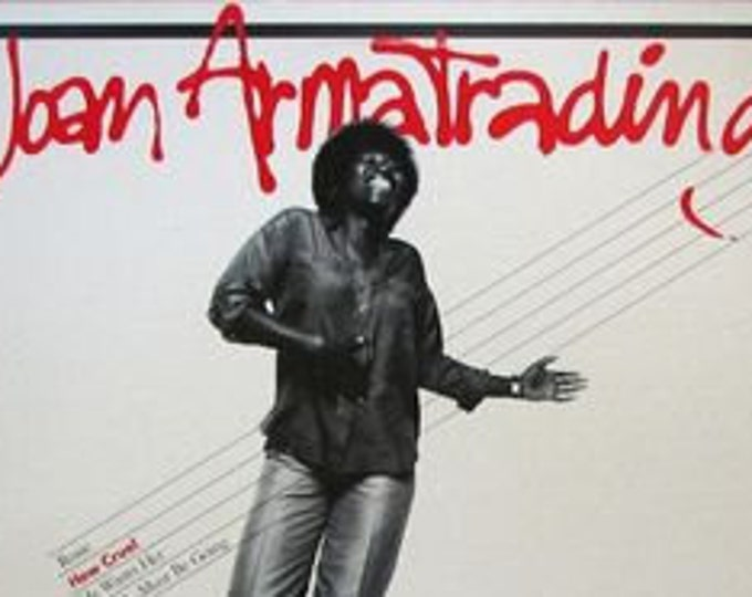 Joan Armatrading Vinyl  Record EP 4 Songs One Sided! Authentic Vintage 1979! Joan Armatrading ~ How Cruel A&M Records SP-3302 Near Mint