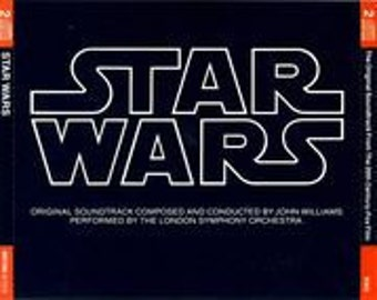 Rare! Star Wars German Import 2 CD W/Booklet~ John Williams/London Symphony! Authentic Vintage 1983! Near Mint