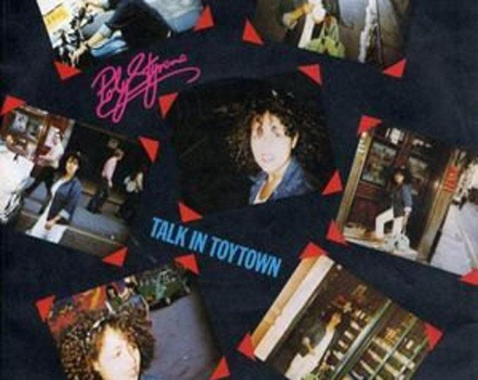 "Poly Styrene Vinyl Record 7"" UK Import! Authentic Vintage 1980! Polystyrene ~ Talk In Toytown United Artists Records BP 370 Near Mint Vinyl"