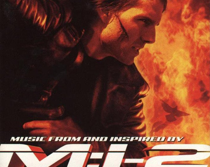 Mission Impossible 2, CD Soundtrack, Canadian Import, Chris Cornell, Metallica! Authentic Vintage 2000!M:I -2 Foo Fighters w/Brian May + 12!