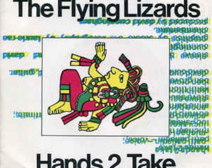 "The Flying Lizards, 7"" Vinyl Record, UK Import! Authentic Vintage 1981! The Flying Lizards, ""Hands To Take"", Patti Palladin (Vocals), NM!"