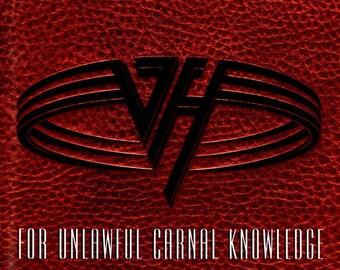 "Van Halen, CD, US Release! Authentic Vintage 1991! Van Hager, ""For Unlawful Carnal Knowledge"", Eddie, Sammy Hager, Classic Hard Rock! NM"