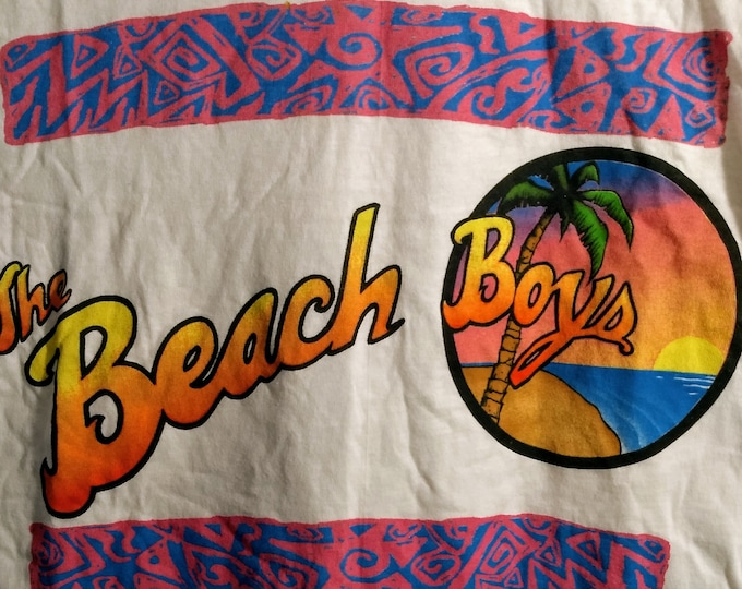 The Beach Boys Concert T Shirt! Authentic Vintage 1993! The Beach Boys Summer In Paradise Tour Band Shirt! Licensed Brockum T Shirt!Like New