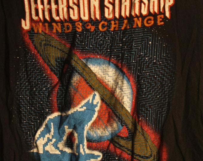 Jefferson Starship Vintage Band T Shirt Grace Slick Paul Kantner!Authentic Vintage 1982! Jefferson Starship Winds Of Change Tour! Like New!