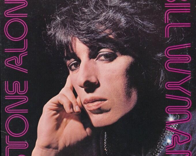 Bill Wyman Stone Alone Album! Authentic Vintage 1976! Bill Wyman ~ Stone Alone Solo Vinyl LP! Rolling Stones Records COC 79103!  Near Mint!