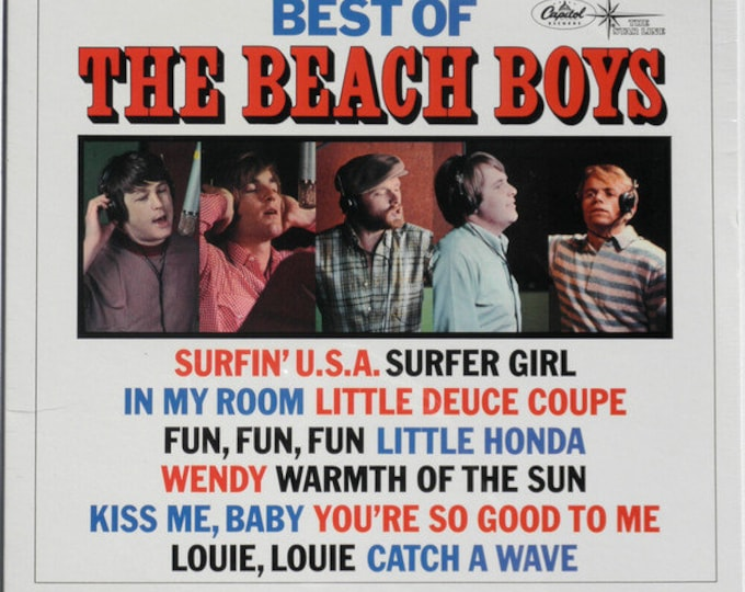 "The Beach Boys, 12"" Vinyl Album, US Release! Authentic Vintage 88! The Beach Boys,""Best Of The Beach Boys"", Star Line Series!Near Mint Vinyl"