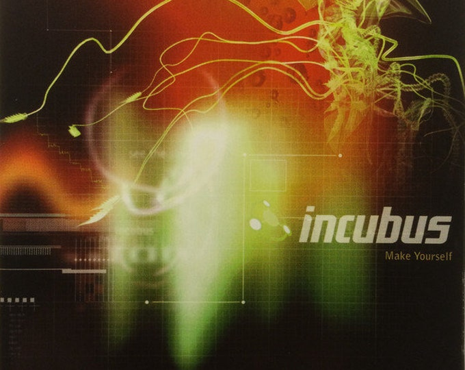 """Incubus CD Canada Import! Authentic Vintage 1999! Incubus """" Make Yourself"""" CD Alternative Rock From Calabasas, California! Near Mint CD!"""