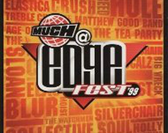 Edgefest 99, CD Compilation, Canadian Import! Authentic Vintage 1999! Edgefest Toronto, Canada! Hole, Silverchair, Moist + 14 More!Near Mint